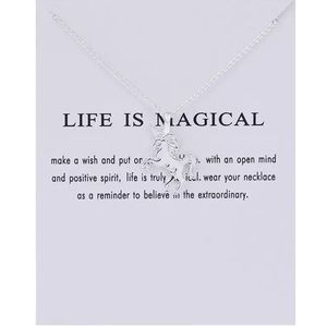 Jewelry - Life is Magical Inspirational Necklace